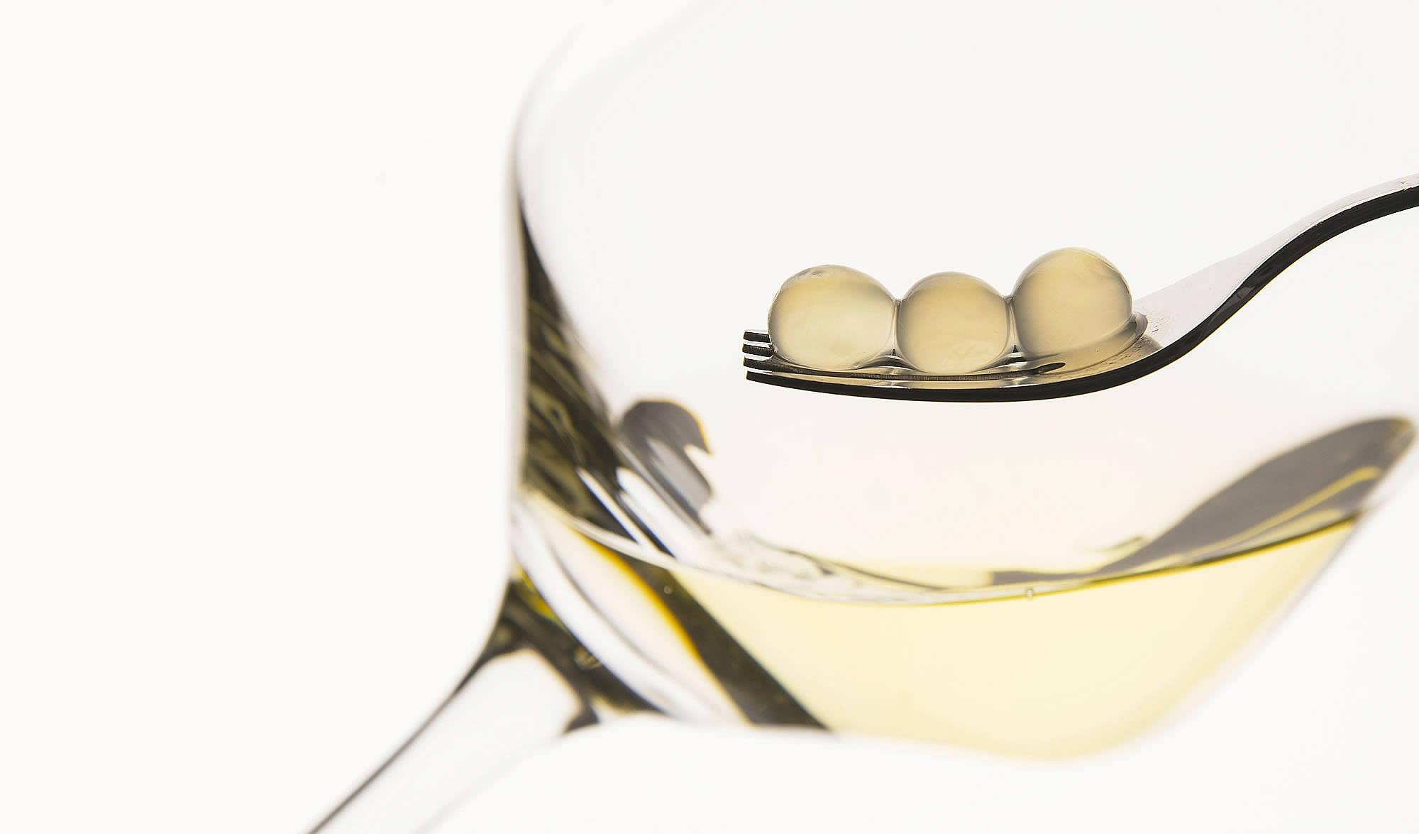 Weinperlen Im Glas